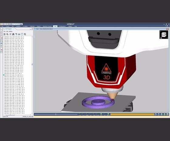 CNC simulation software Vericut 8.1