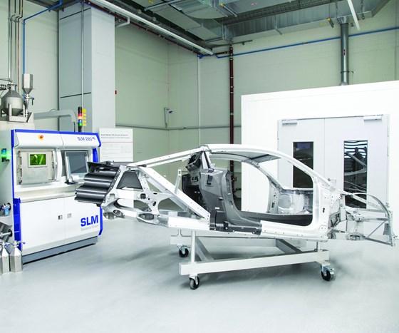 Metal 3D printing center