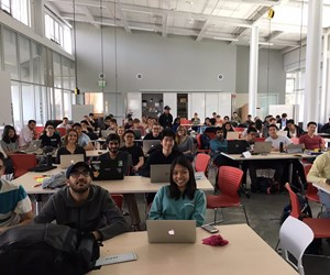 Students in Intro to Product Development class at University of California, Berkeley