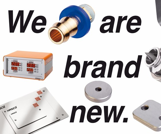 Variety of products from Hasco with text that says We are brand new.