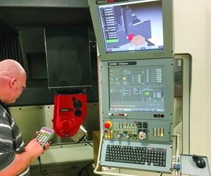 Fidia C40 Vision CNC control demo
