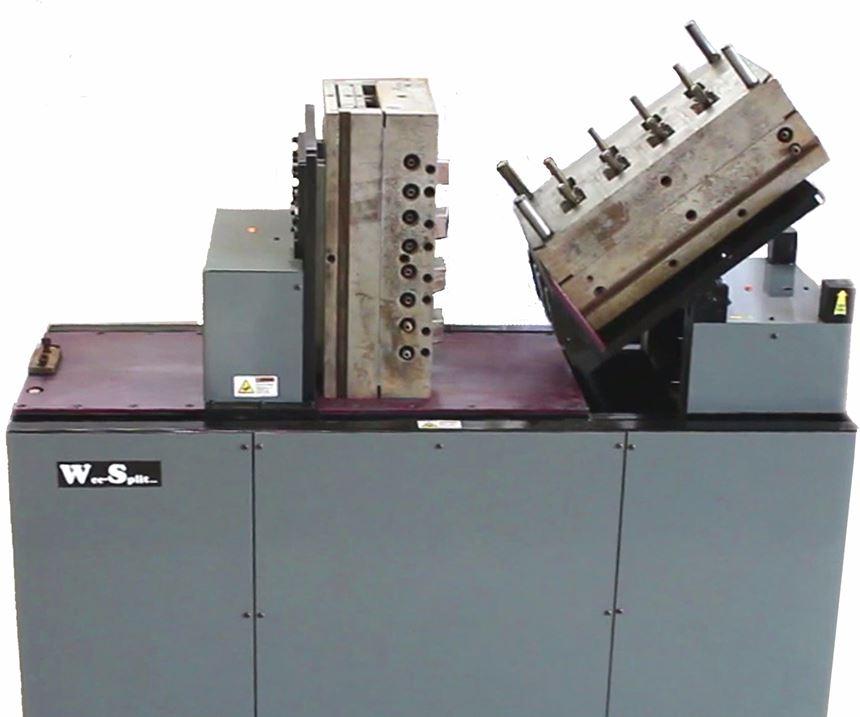 Wee-Split Inc. mold splitter and mold tipper.