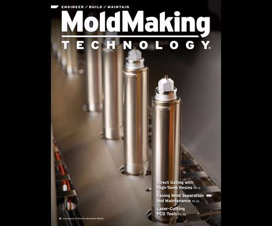 MoldMaking Technology magazine cover from April 2017