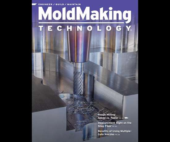 MoldMaking Technology magazine cover from February 2016