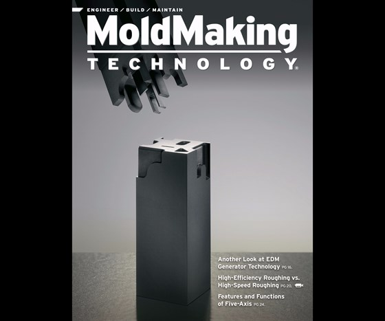 MoldMaking Technology magazine cover from March 2016