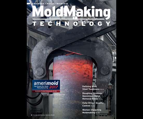 MoldMaking Technology magazine cover from May 2017