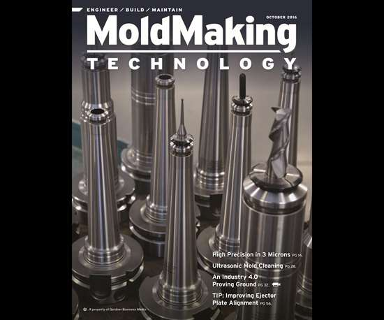 MoldMaking Technology magazine cover from October 2016