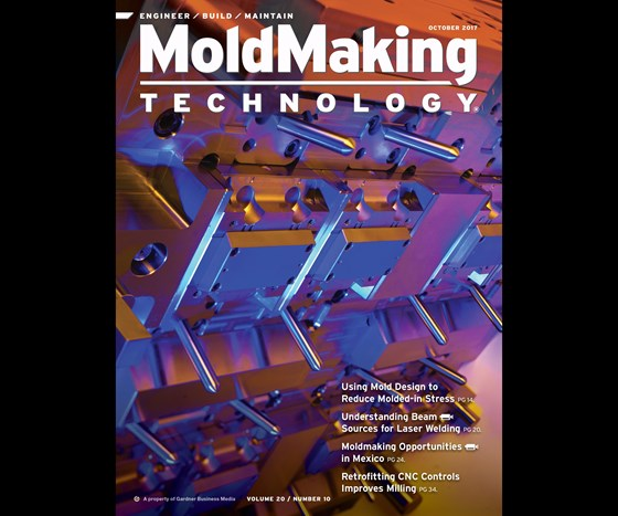 MoldMaking Technology magazine cover from October 2017