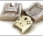 3D mold of a video or computer game controller