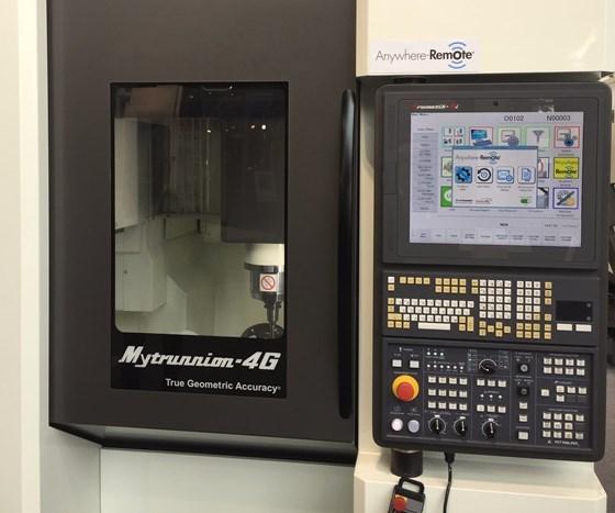 Kitamura Mytrunnion-4G vertical machining center
