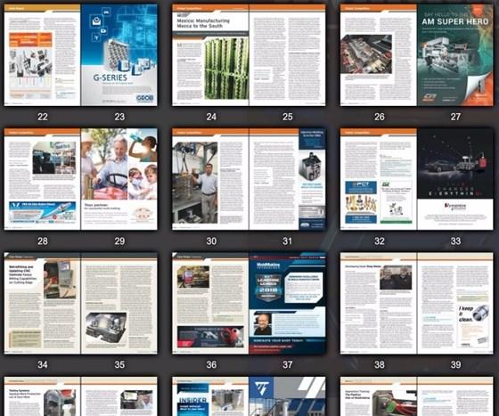 Pages of MoldMaking Technology magazine