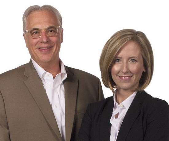 Marc Diebold (left) and Leslie Galbreath (right)