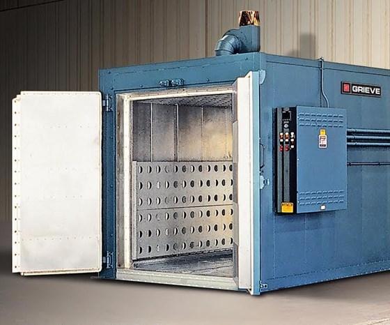 Grieve No. 852 high temperature, walk-in oven