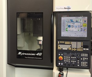 Kitamura Mytrunnion-4G vertical machining center