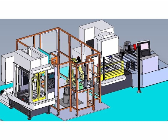 Figure of Methods Machine Tools automation cell