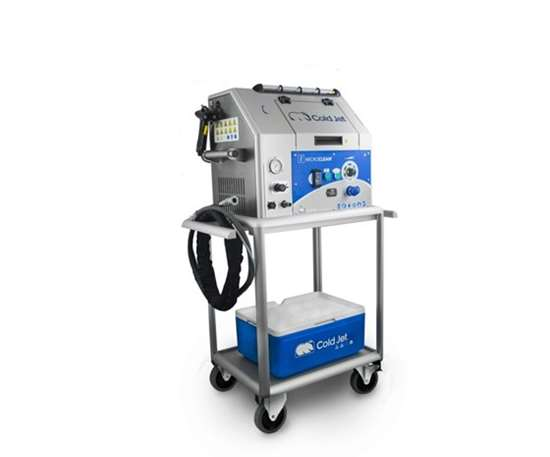 i³ MicroClean dry ice blasting technology from Cold Jet