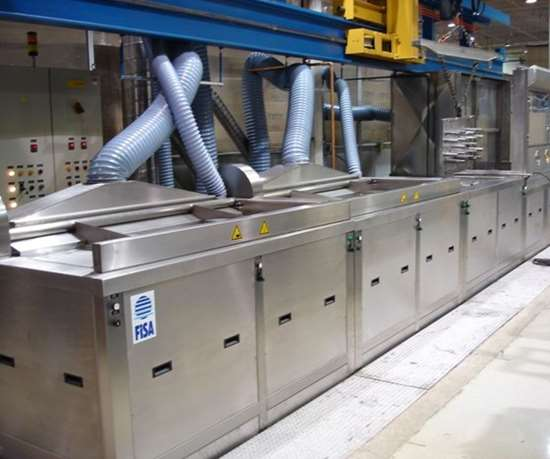 Fisa ultrasonic cleaning machines