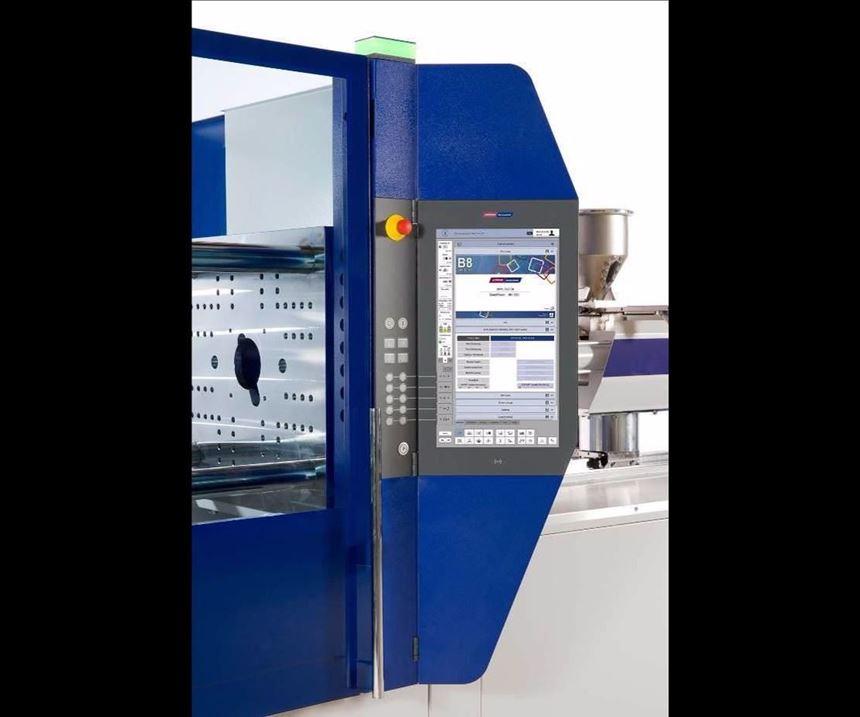 The Wittmann Battenfeld Unilog B8 control system