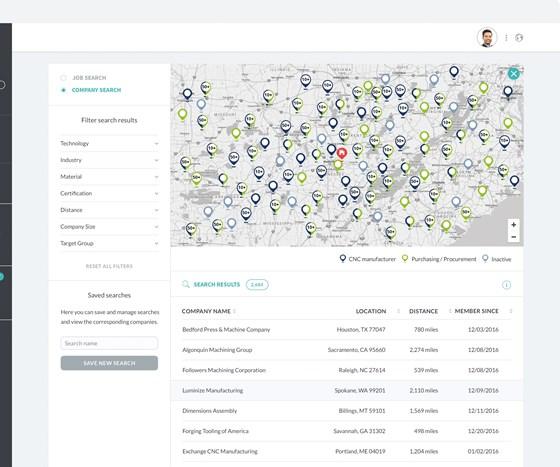 Map screen shot of OrderFox.com