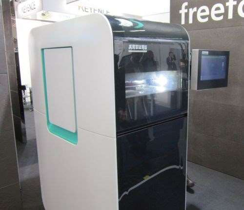 Arburg Freeformer system at Euromold 2014