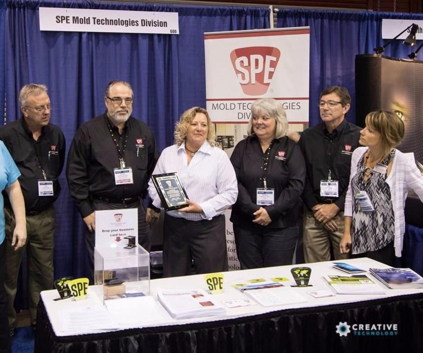 SPE Mold Technologies Division Honors Renee Nehls
