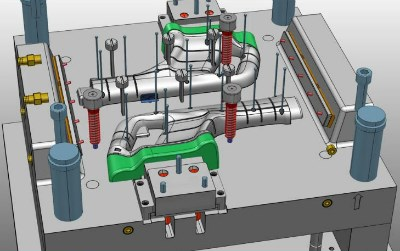 CAD mold design