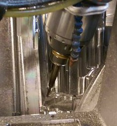 Five-axis machining for mold manufacturing