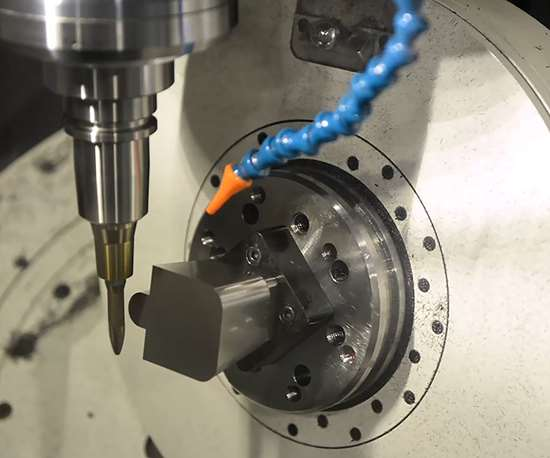 Though initially more expensive, a new five-axis machine and cutting tool will result in the lowest cost per part, and sometimes by a lot.