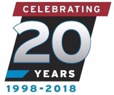 MoldMaking Technology 20-year anniversary logo.