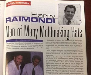 Harry Raimondi in MoldMaking Technology Magazine, June 1999