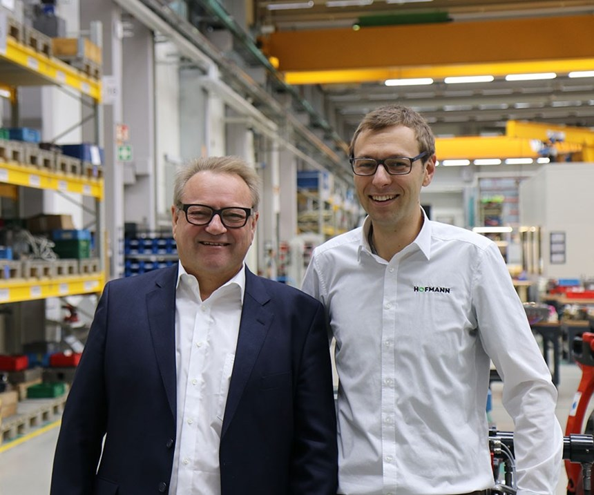 Managing Director Stefan Hofmann(right), Günter Hofmann.