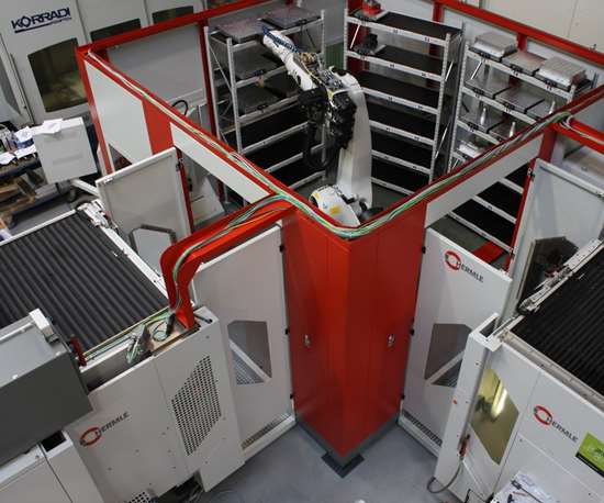 Kegelmann Technik operates six Hermle 5-axis machining centers