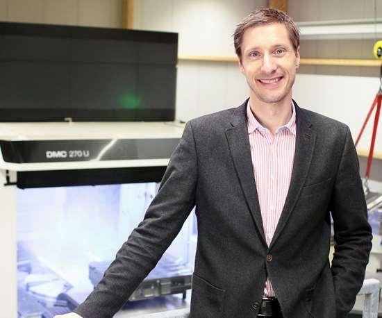 Managing Director Anton Schweiger, Schweiger Formenbau