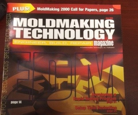 Cover of MoldMaking Technology Magazine in June 1999