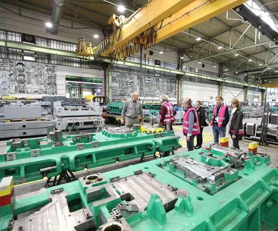EMO in Slovenia specializes in progressive and transfer tools