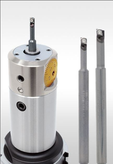 The Mini Indexable Boring Bar from Big Kaiser