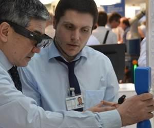 two men inspecting