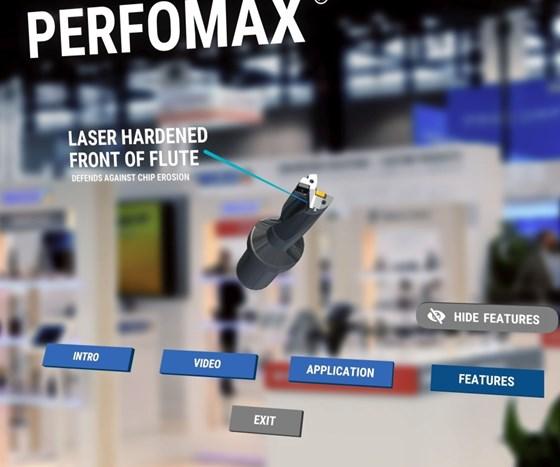 Augmented reality screen shot