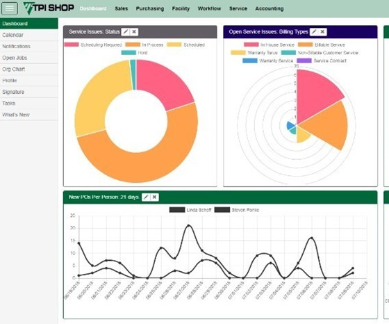 ERP screen capture