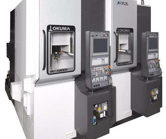 Okuma's MU-S600V five-axis vertical machining center