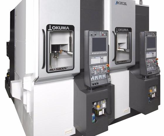 Okuma's MU-S600V five-axis vertical machining center