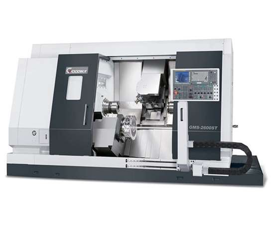 Yama Seiki's GMS-2600 ST turning center