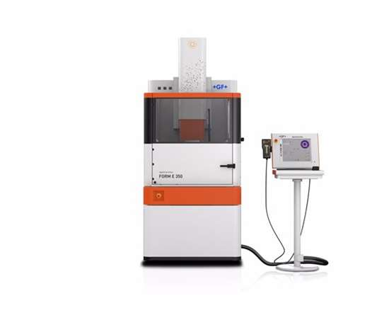 GF Machining Solutions's new compact Form E 350 machine