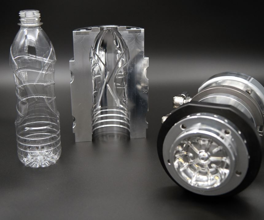 plastic bottle and mold