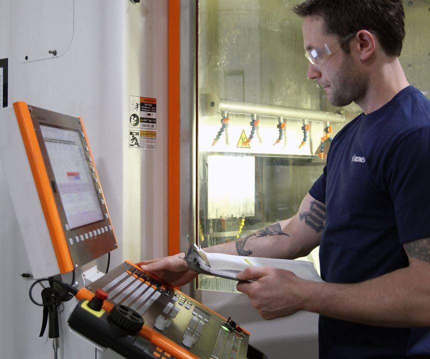 guy at machine