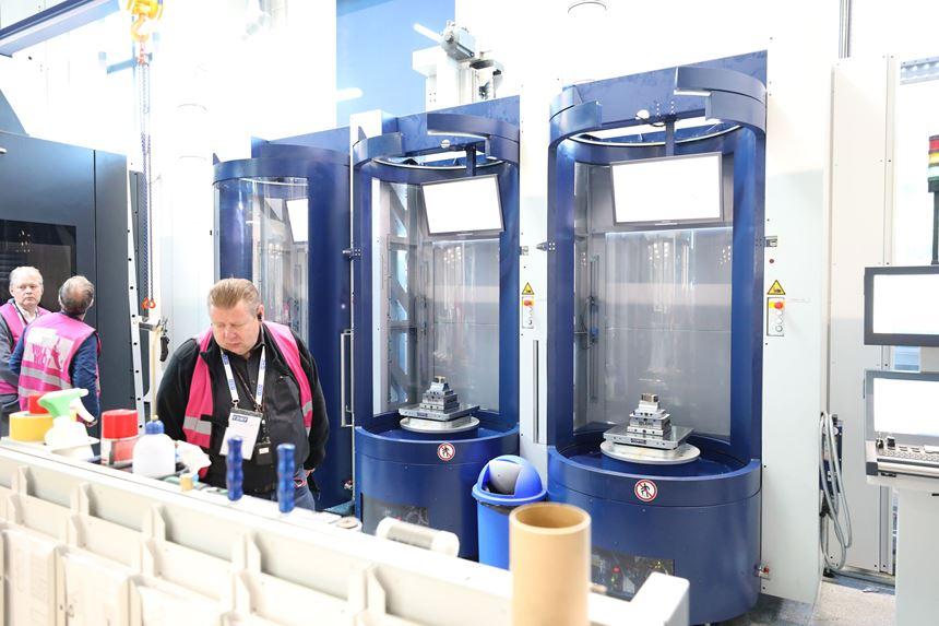 Haidlmair automated production line