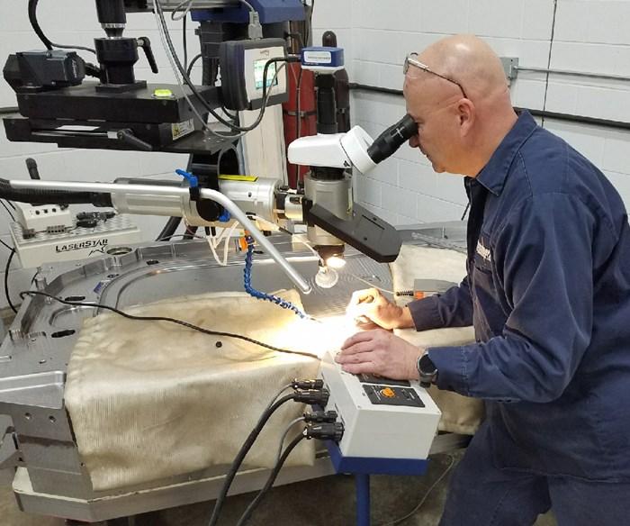 LaserStar customer Benchmark Welding using the 8700 Series FiberStar