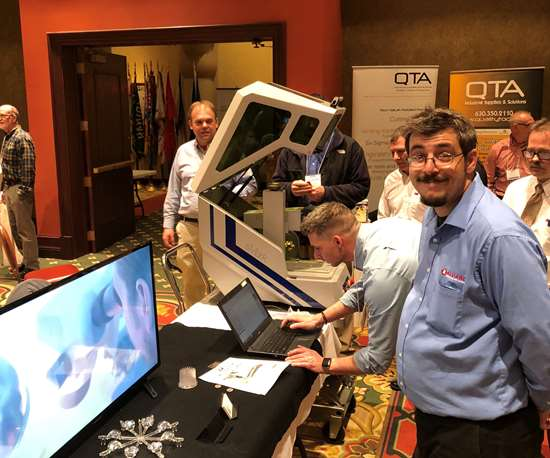Alliance Specialties and Laser Sales at Chicago AMBA Supplier Night