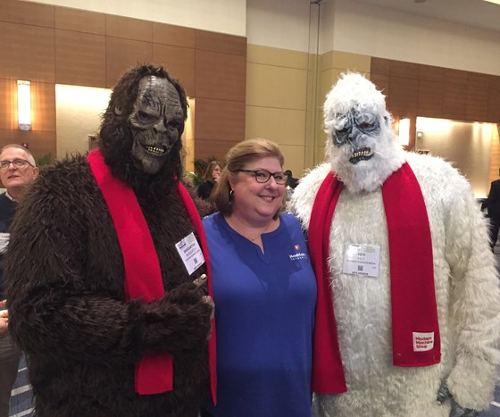 A tale of two Yetis at the IMTS 2018 Exhibitor Workshop