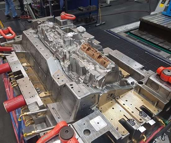 instrument panel substrate mold from Integrity Tool and Mold